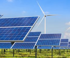 wind_solar_grass_blue_sky