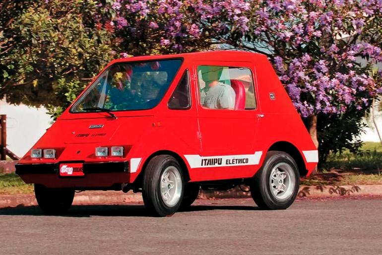 Primeiro carro elétrico do Brasil